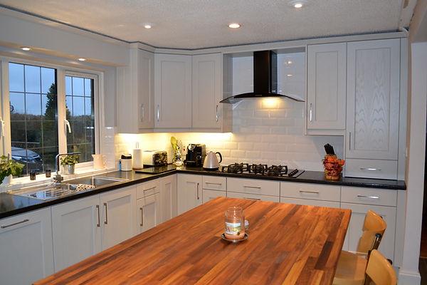Kitchen Doors - Shaker 45 Ash Painted