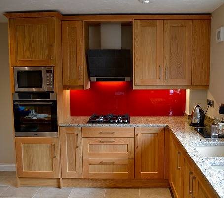 Kitchen Doors - Shaker 45 oak