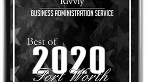 Press Release | Rivvly Receives 2020 Best of Fort Worth Award