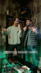 Apparently the Karaoke Champs