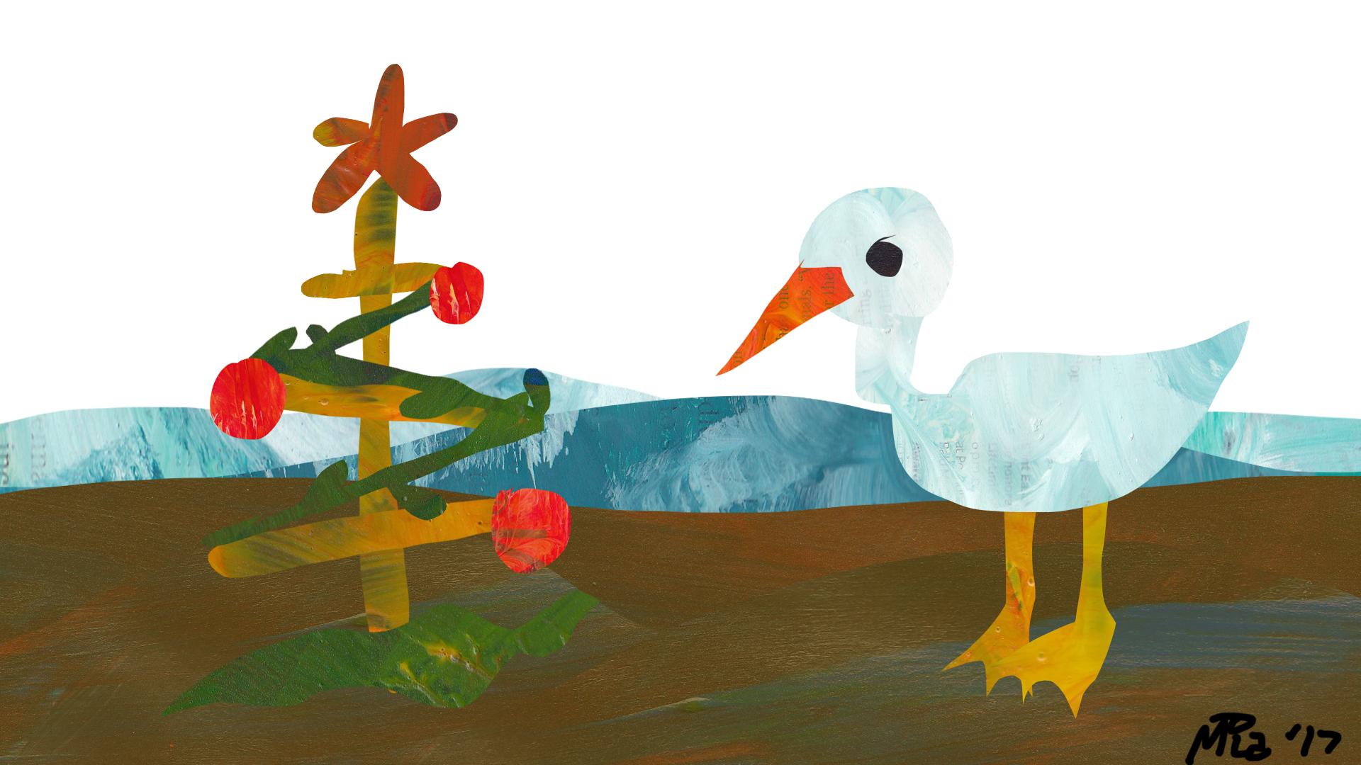 Christmas Seagull