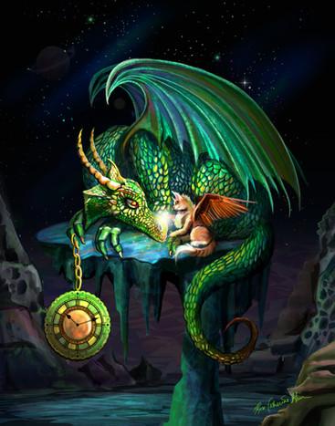 Time Dragon Emerald