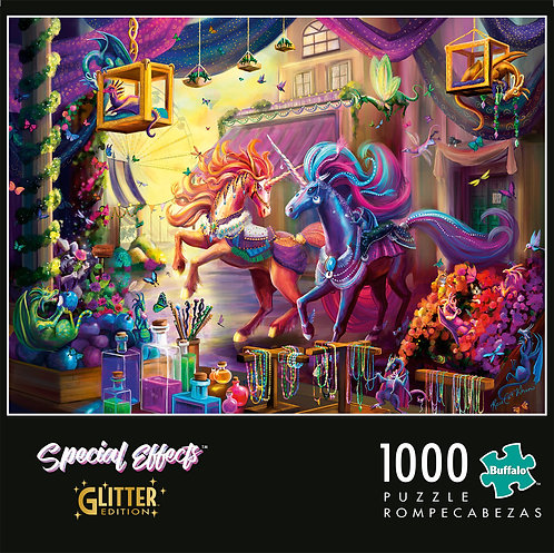 Twilight Marketplace Puzzle, signed by the artist