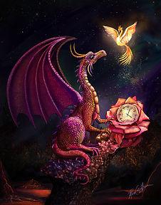 Time Dragon Scalret Rose