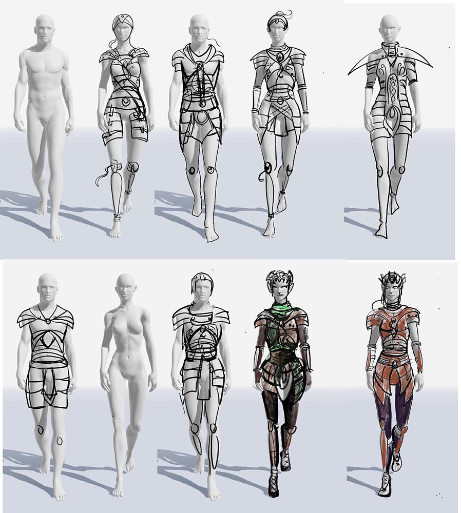 Armor Sketches