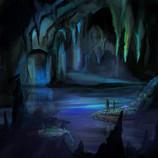Azure Cavern Concept Sketch