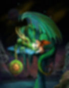 Time Dragon Emerald