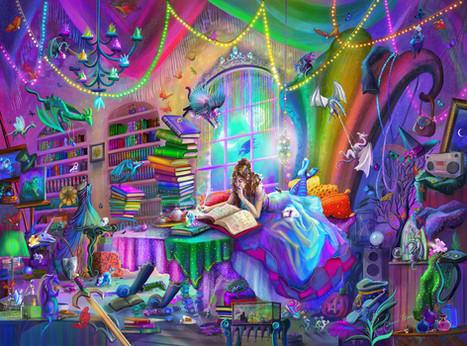 Magic Study Rainbow Version