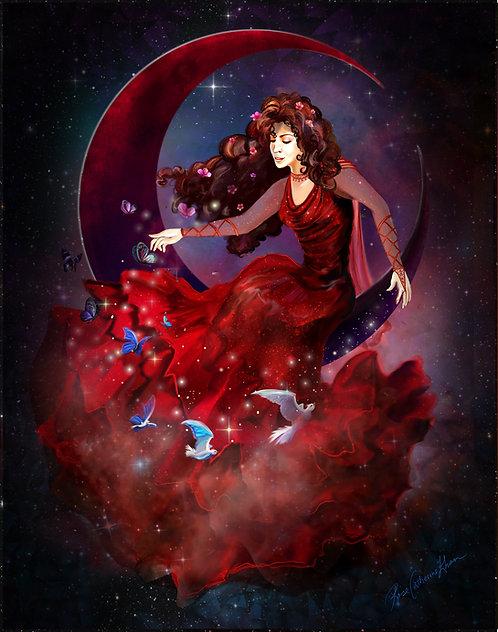 "Misa the Dreamspinner 11"" x 14"" Print"