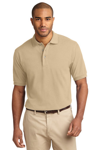 Port Authority® Heavyweight Cotton Pique Polo