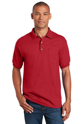 Gildan® DryBlend® 6-Ounce Jersey Knit Sport Shirt with Pocket