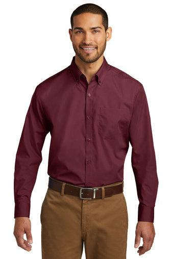 Port Authority® Long Sleeve Carefree Poplin Shirt