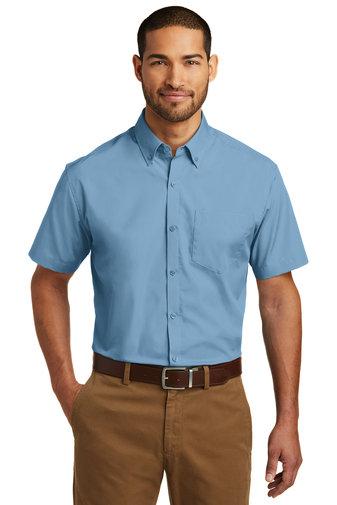 Port Authority® Short Sleeve Carefree Poplin Shirt