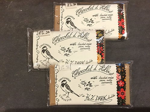Tablette chocolat d'Albi – Anise, cocoa nibs and currants