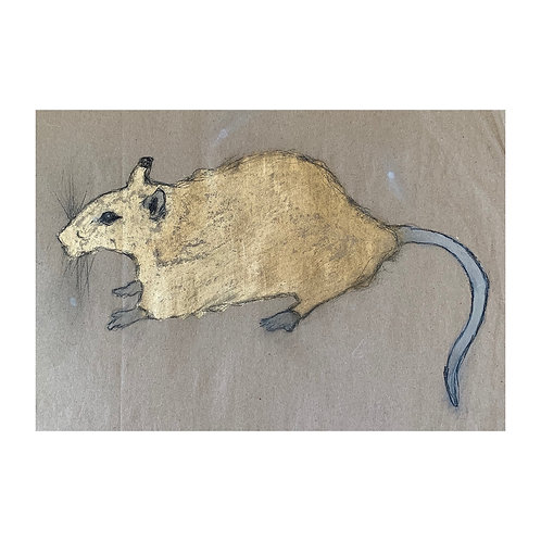 YEAR OF THE RAT PAINTING