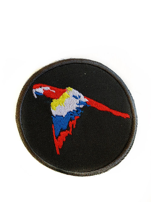 PARROT IRON ON PATCH