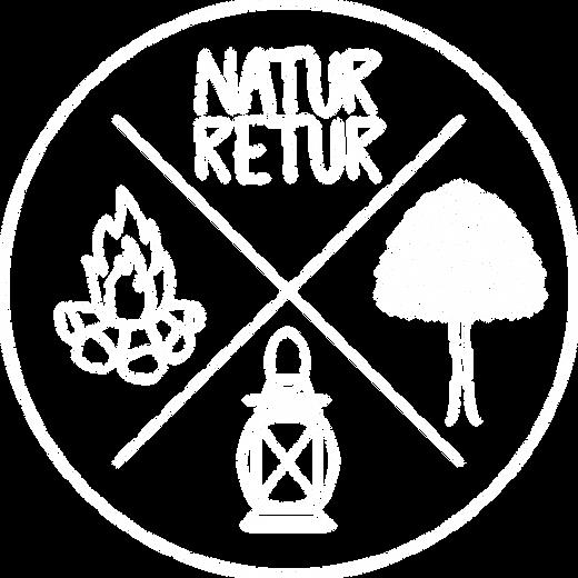 Logo rundt - NaturRetur - hvid.png