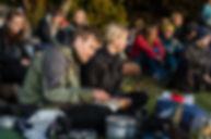 Natur Retur | Solopgang | Naturformidling | Ture i naturen | Aarhus bugt | Fællessang | Fotograf Line Beck
