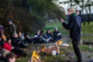 Natur Retur | Solopgang | Naturformidling | Ture i naturen | Aarhus bugt | Fællessang | Naturformidler Nikolaj Voldum Ahlburg | Fotograf Line Beck