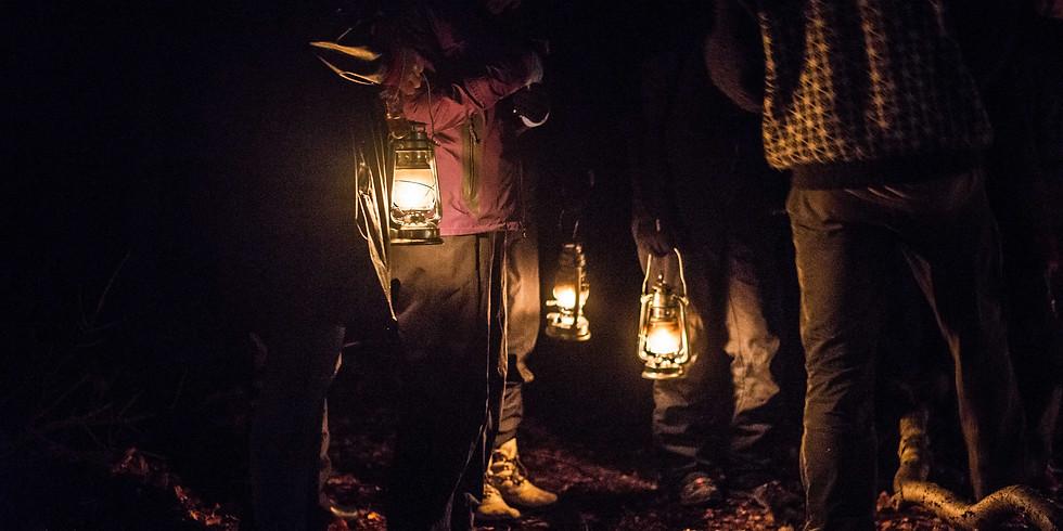 Melankolsk lanternevandring