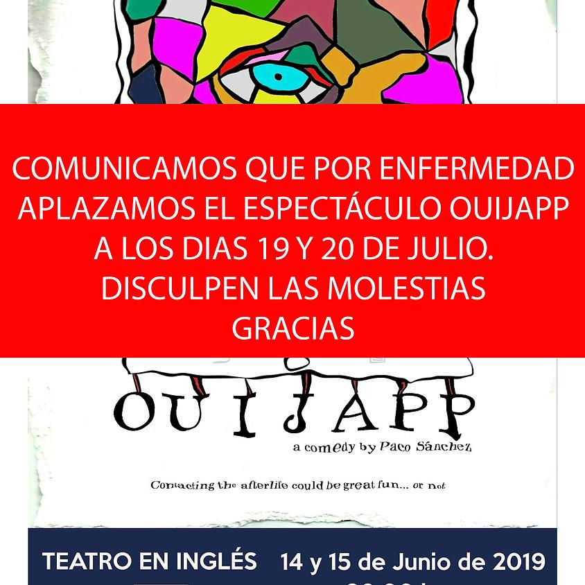 OUIJAPP (TEATRO EN INGLÉS)