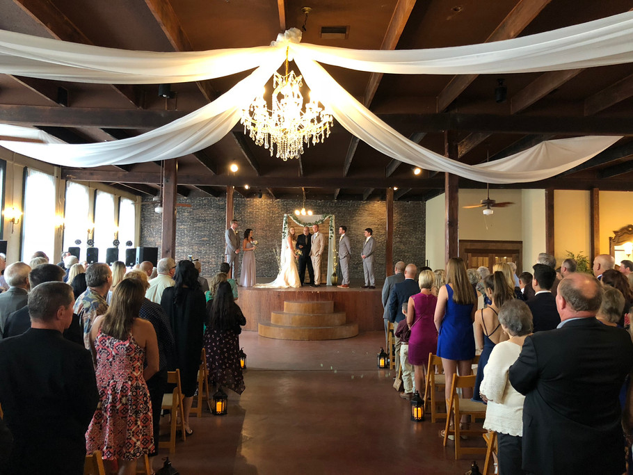 Get Married at The Trolley Station