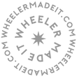 the wheeler made it logo which spells out wheeler made it dot com in concentric text around a star