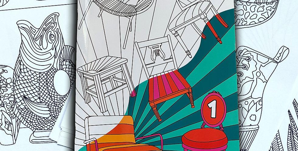 WHEELER Colouring Book