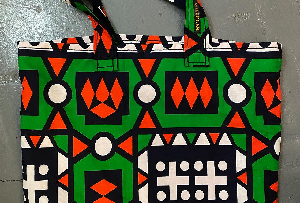 Wheeler Samakaka Bag - Green/Orange