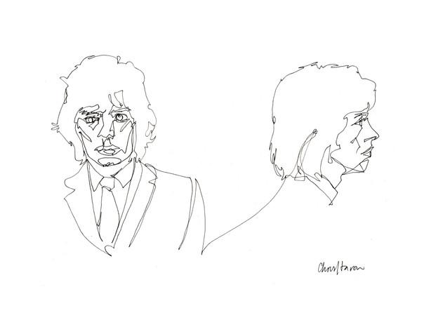 Mick Jagger Mugshot
