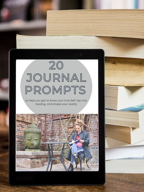 20 FREE Journalnig Prompts