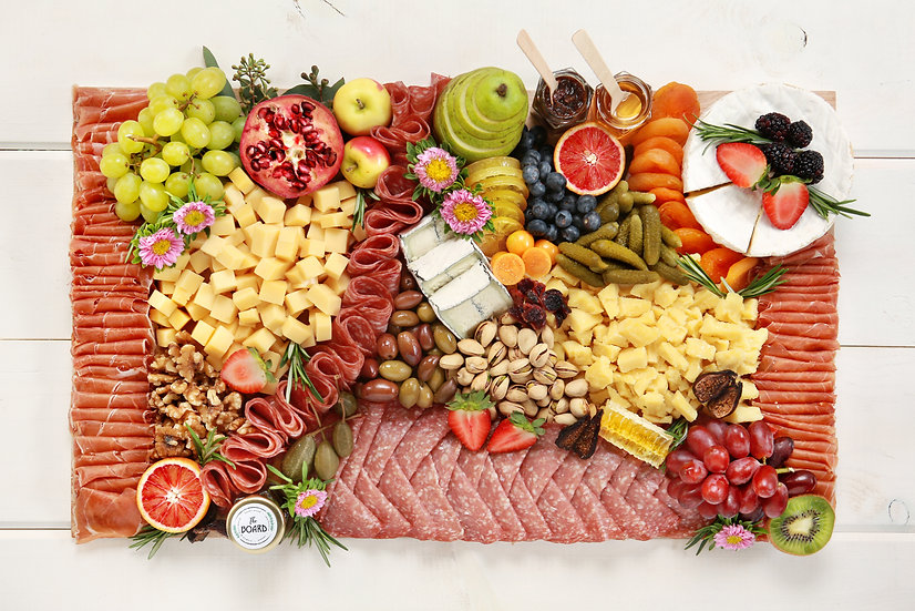 Cheese & Charcuterie Board - Large