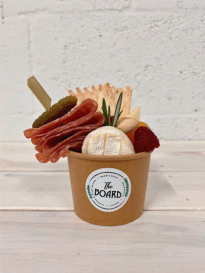 Cheese & Charcuterie Cups for One