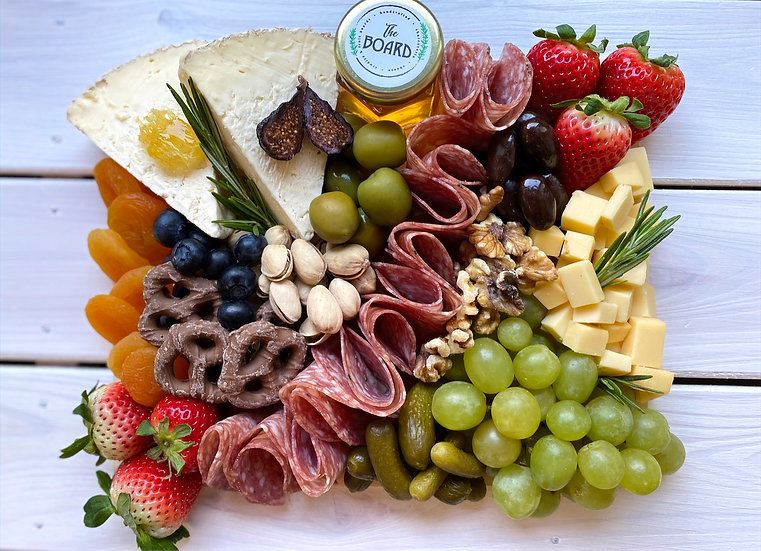 Cheese & Charcuterie Board for two