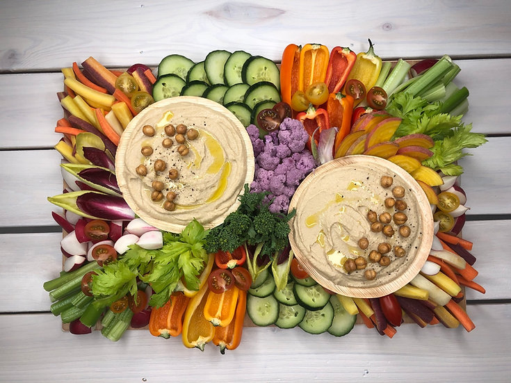 Crudités & Hummus Board