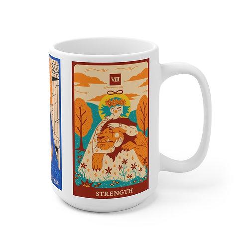 Tarot Reading Ceramic Mug 15oz