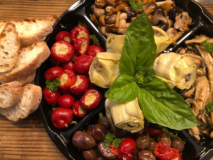 Vegetable platter