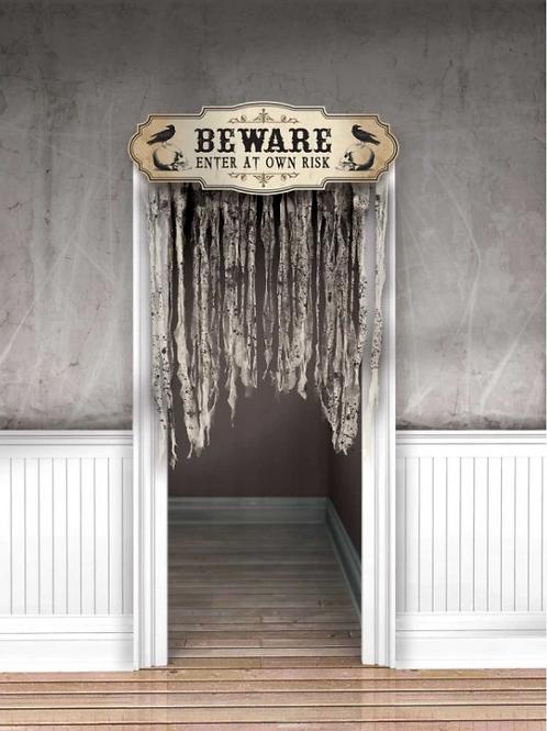Boneyard Beware Curtain