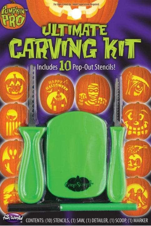 Ultimate Pumpkin Carving Kit