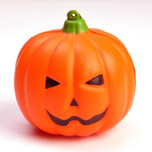 Pumpkin stress ball