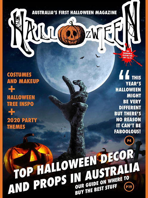 Hallozween Magazine – The Inaugural Edition