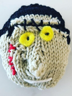 Knitted Frankie