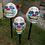 Thumbnail: Creepy Clown Lawn Stakes - 3 pack!