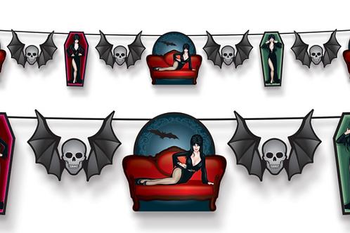 Elvira Queen of Halloween streamer