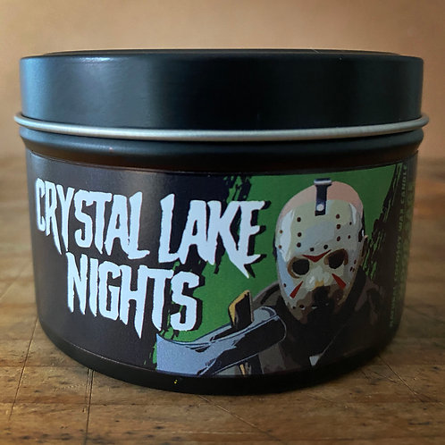 Crystal Lake Nights candle