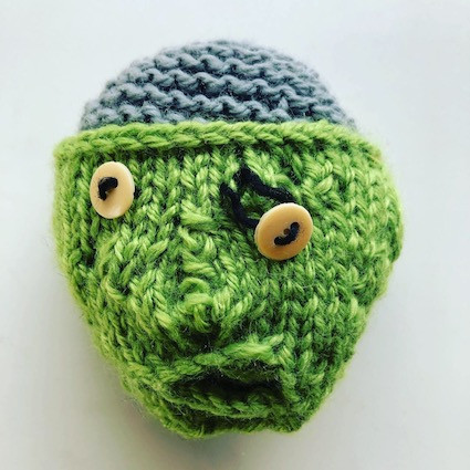 Knitted zombie