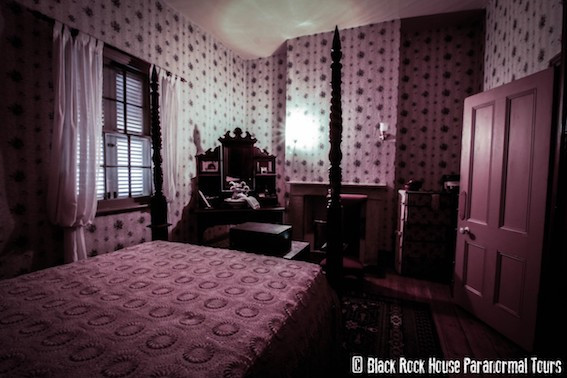 Black Rock house bedroom