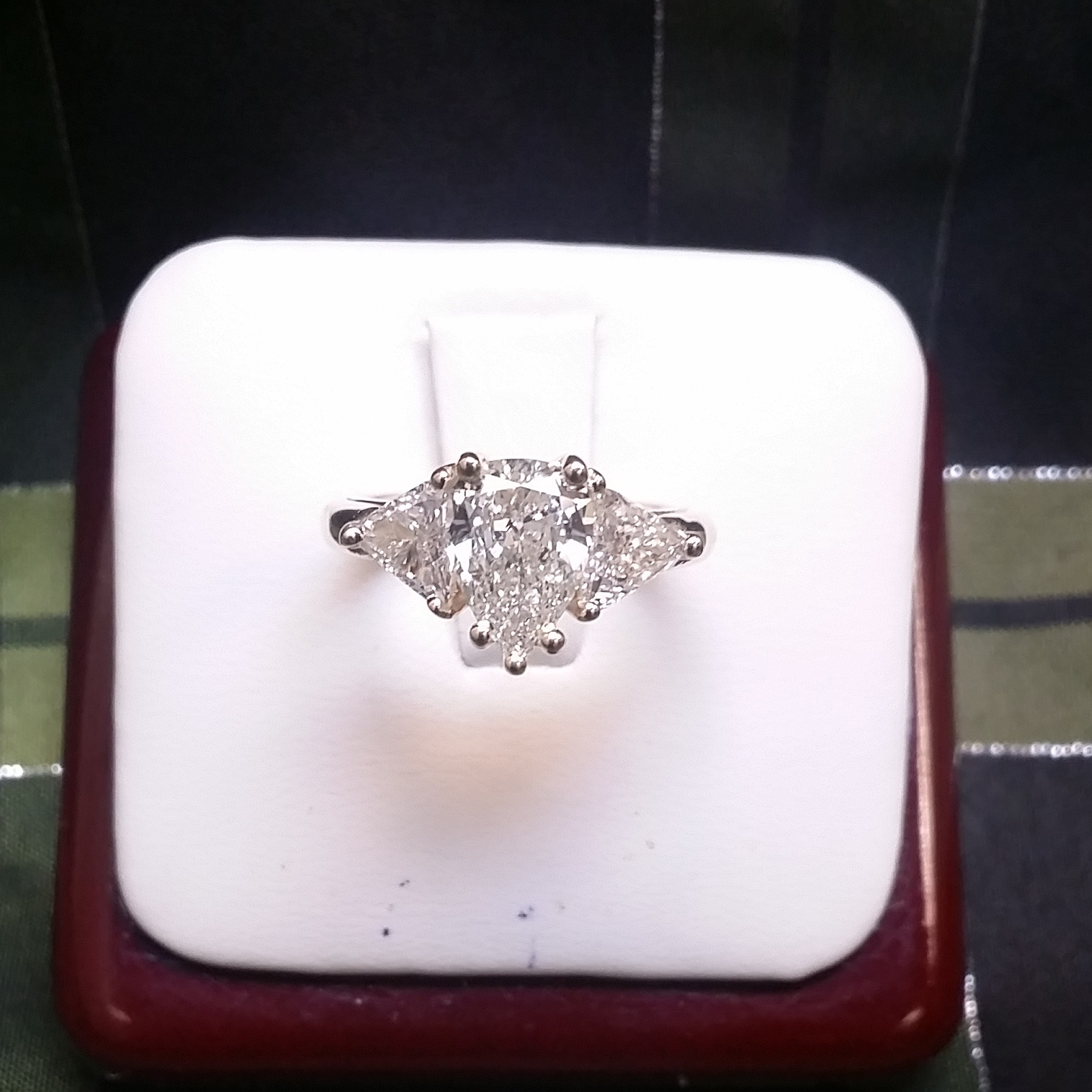 Elizabeth's engagement ring