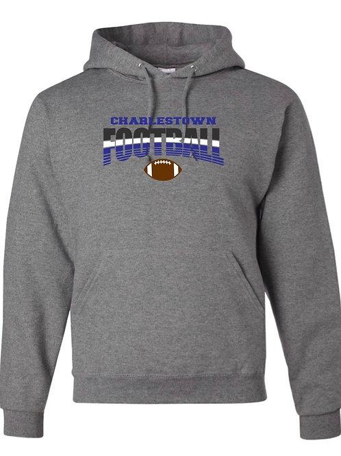 """Charlestown Football"" Hooded Sweatshirt"