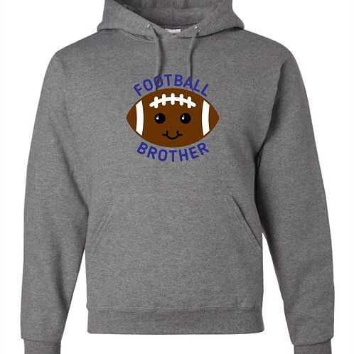 """Football Brother"" Hooded Sweatshirt"